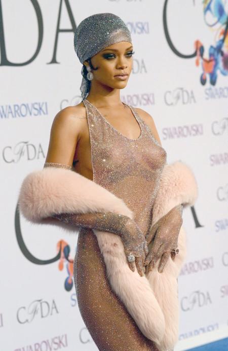 Rihanna Look Peor