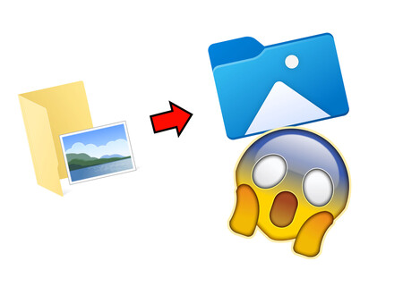 Cambio histórico en la última beta de Windows 10: adiós a las icónicas carpetas amarillas y hola al nuevo estilo