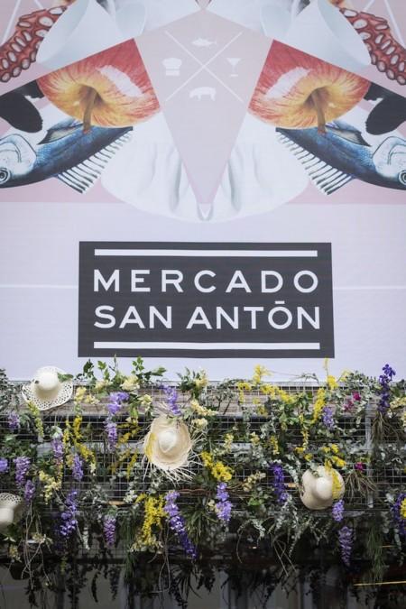 La decoración de verano llega al Mercado de San Antón de la mano de Decolab y Búcaro