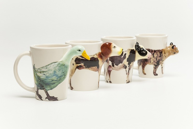 Tazas Kare con forma de animales Animal-shaped Kare Mugs