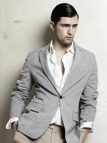 Zara, Primavera-Verano 2010: un hombre a la última y con estilo, gris