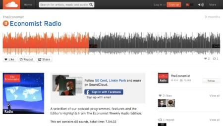 SoundCloud celebra sus 180 millones de visitantes al mes con un nuevo diseño de su web