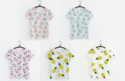 5 Camisetas con estampados divertidos por sólo 5,75 euros y envío gratuito en Aliexpress
