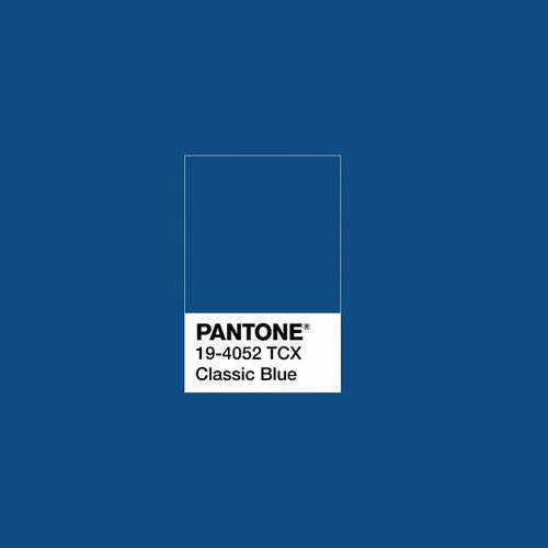 Pantone anuncia el color de moda del 2020: Classic blue