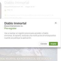 Diablo Immortal ya en pre-registro en Google Play, apúntate ya para ser el primero en probarlo