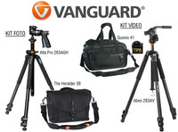 Participa con Vanguard en nuestro club y gana uno de los kits con bolsa y trípode