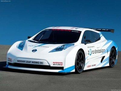 El Nissan Leaf Nismo RC en Le Mans