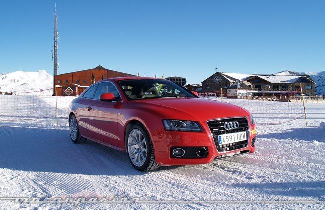 Audi winter driving experience Audi A5 3.0 TDI quattro