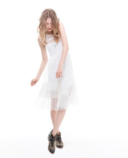 Vestido Zara TRF