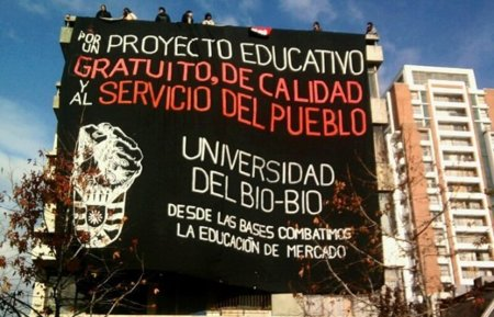 Anonymous encabezará un ataque al gobierno de Chile en apoyo a las protestas estudiantiles