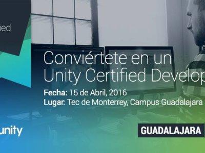 Conviértete en un Unity Certified Developer en Guadalajara