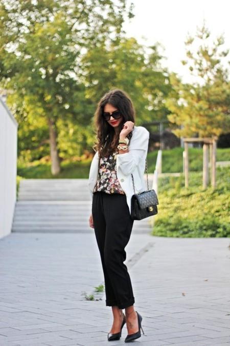 Kaviargauche Outfit Dinner Chanel Bag Hallhuber Zara
