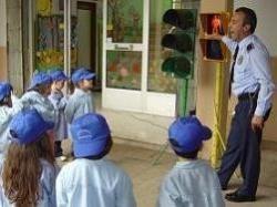 Enseñar educación vial a niños de dos y tres años