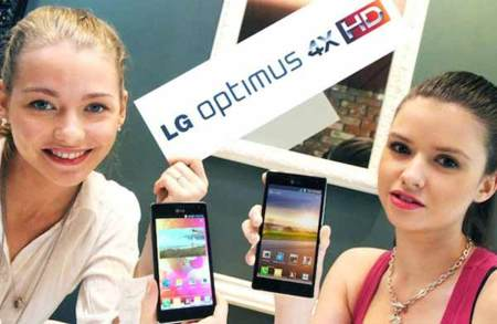 Optimus 4X HD promo
