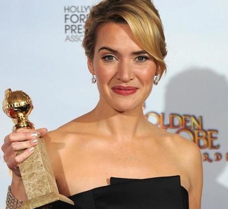 Kate Winslet la gran vencedora de los Globos de Oro