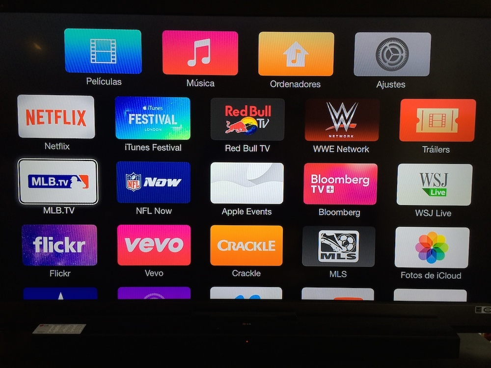 Actualización Apple TV 7.0
