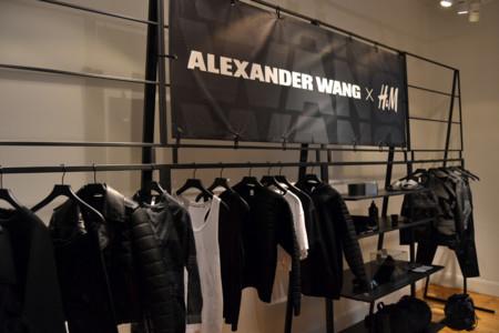 Alexander Wang Hm 2014 logo
