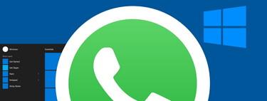 WhatsApp empieza a ofrecer la función de llamadas y videollamadas en su versión para Windows 10