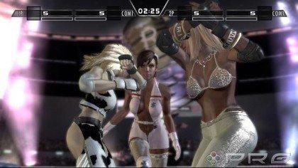 Nuevas capturas del Rumble Roses XX