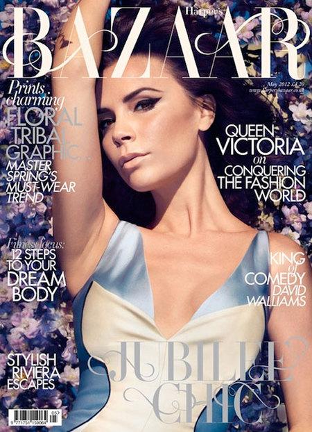 Victoria Beckham en Harper's Bazaar: la mujer de una sola pose