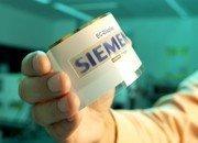 Pantallas imprimibles en papel de Siemens