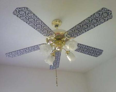 Redecorando un ventilador