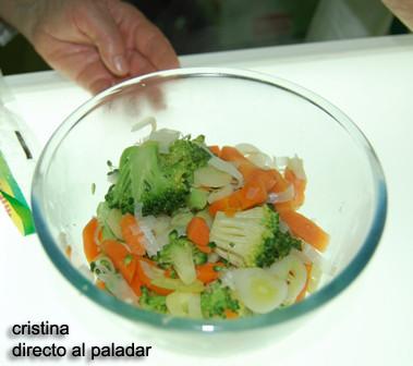 Verduras Micro ya cocinadas