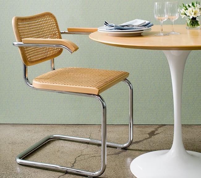 Cesca Chair Saarinen Dining Table 6626 Z Jpgrect