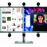 HP ENVY 34 inch All-in-One Desktop PC: formato ultrapanorámico para un PC que llega con una webcam muy juguetona