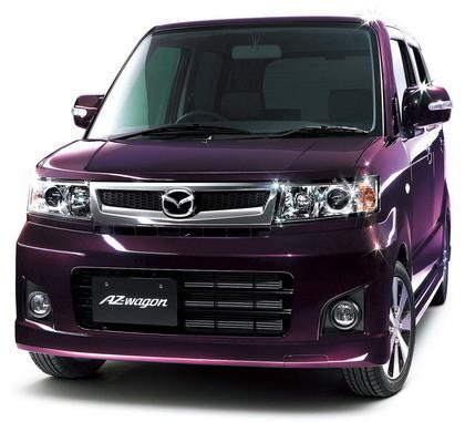 Mazda AZ-Wagon, furgoneta con estilo para Japón
