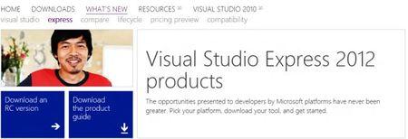 Cuando Microsoft escucha, habrá Visual Studio 2012 Express para Escritorio de Windows 8