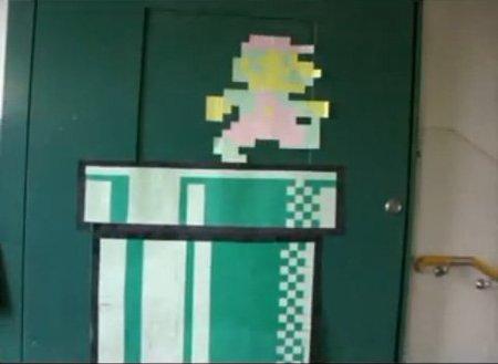 Super Mario en Stop Motion