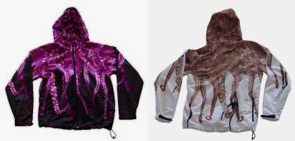 Sudadera Octopus Windbreaker