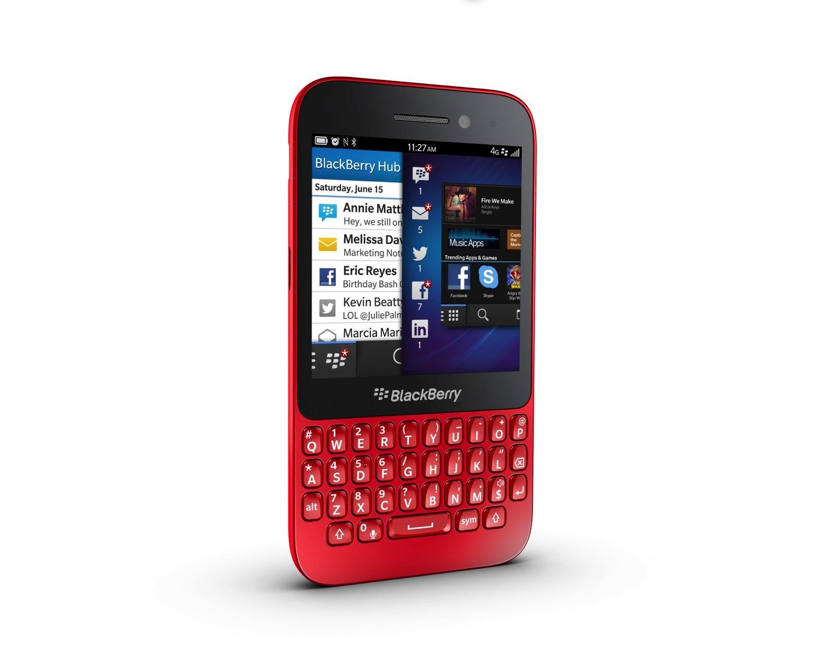 Foto de Blackberry Q5, presentación oficial (6/9)