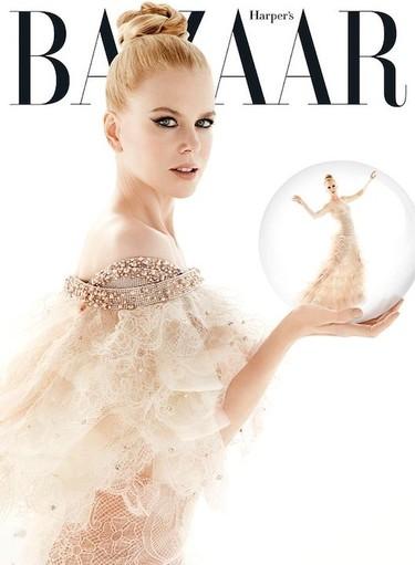 Duelo de rubias para el último número de Harper's Bazaar: Nicole Kidman Vs Kate Hudson
