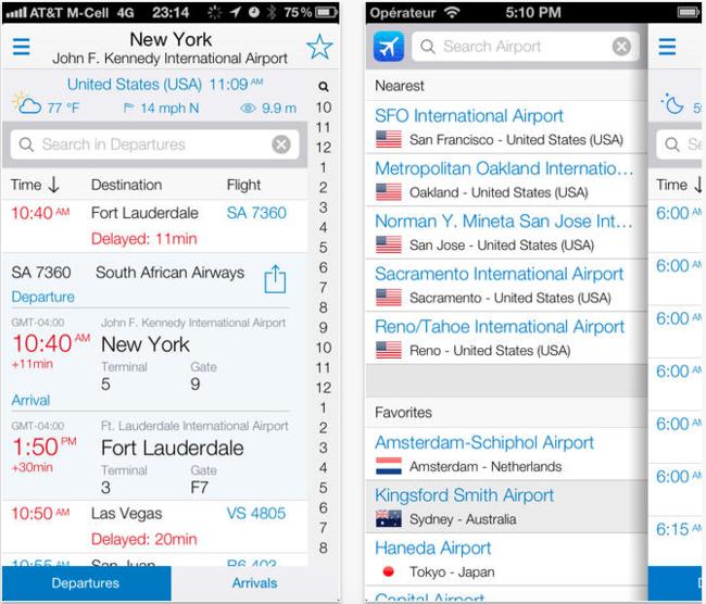 app para seguir vuelos