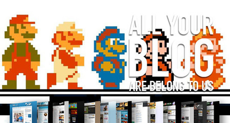Rod Stewart Entertainment System, sprites y ninjas en taparrabos: All Your Blog Are Belong To Us (CCX)