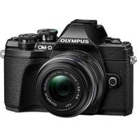 La sin espejo Olympus OMD E-M10 Mark III con objetivo 14-42mm en color negro, en MediaMarkt nos sale hoy por 575 euros [Caducada]