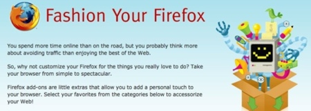 Fashion Your Firefox, instálale add-ons al navegador