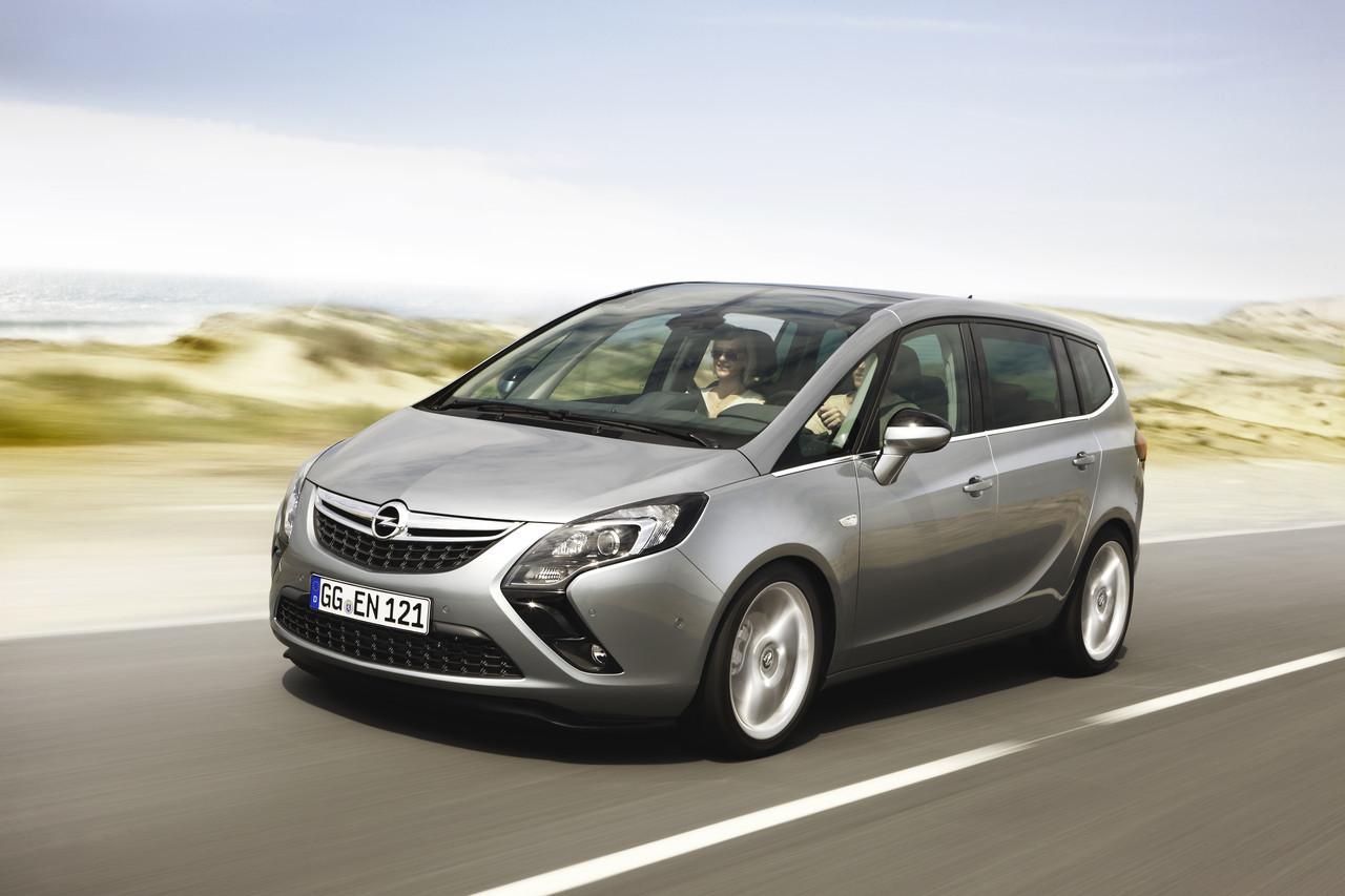 Foto de Opel Zafira Tourer (1/23)