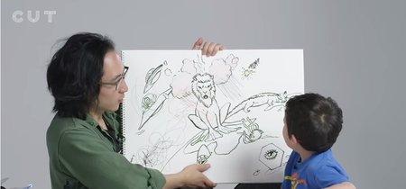 ¿Cómo ven los niños a Dios? Un ilustrador lo dibuja