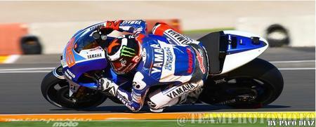 Jorge Lorenzo en el circuito Ricardo Tormo