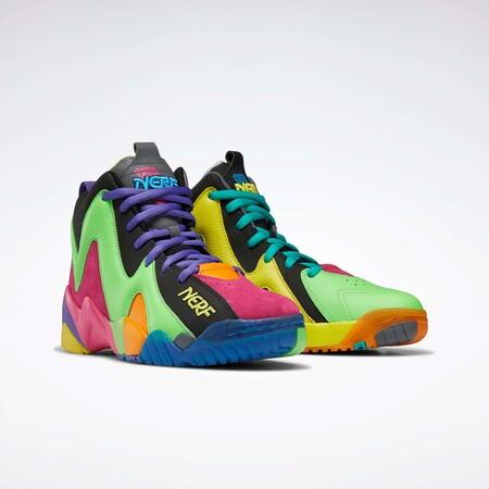 Nerf X Reebok Retro Basketball 1