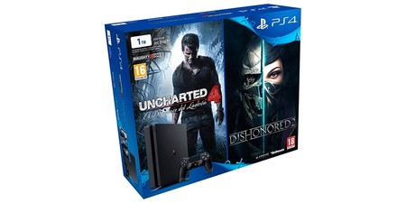Ps4 Uncharted 4 Dishonored 2