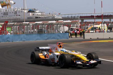Fernando Alonso GP de Europa 2008