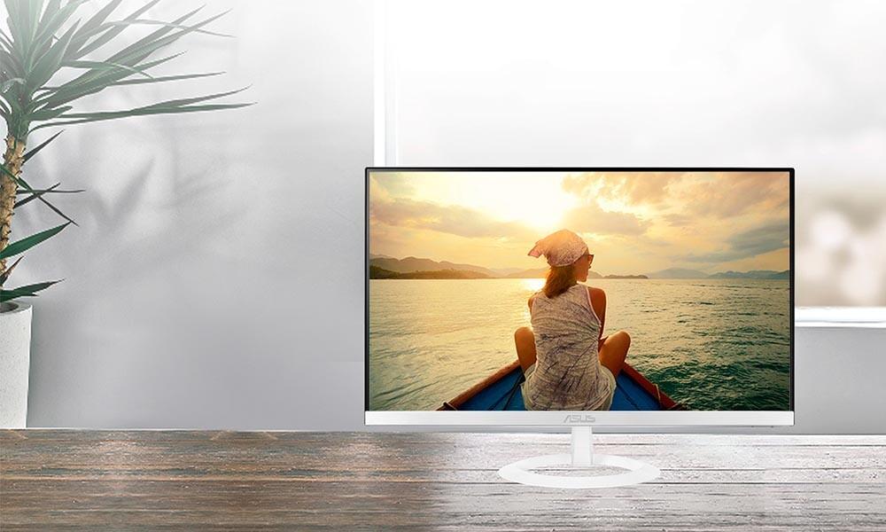 Estilo para tu escritorio por poco dinero: el monitor ASUS VZ239HE-W vuelve a estar de oferta en Amazon por 104,99 euros