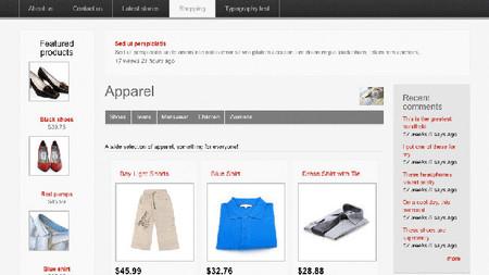 Tienda online Drupal