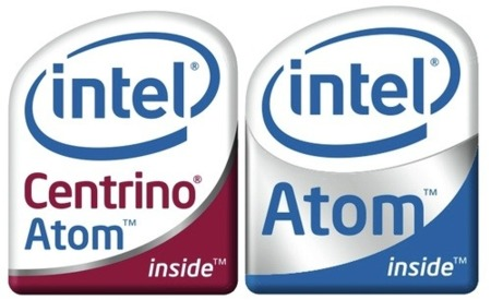 Intel Atom logos