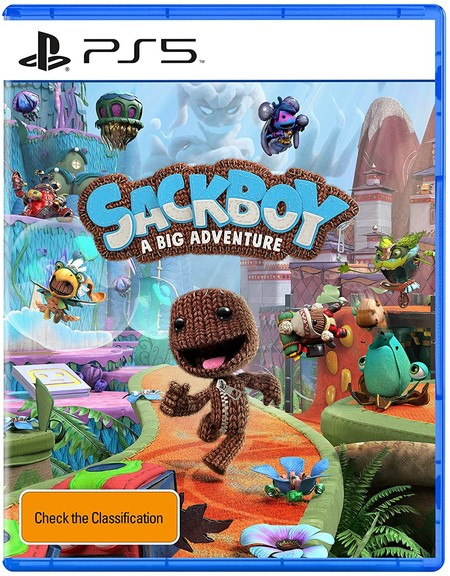 Sackboy A Big Adventure Ps5 Box