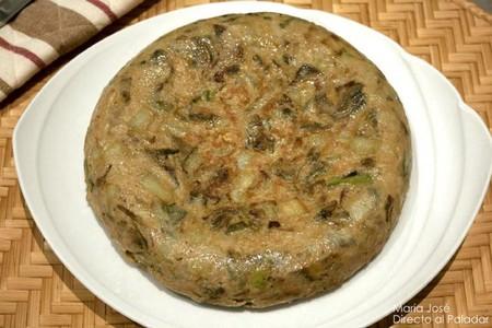 Cómo hacer tortilla de hortalizas, receta jugosa para disfrutar de las verduras
